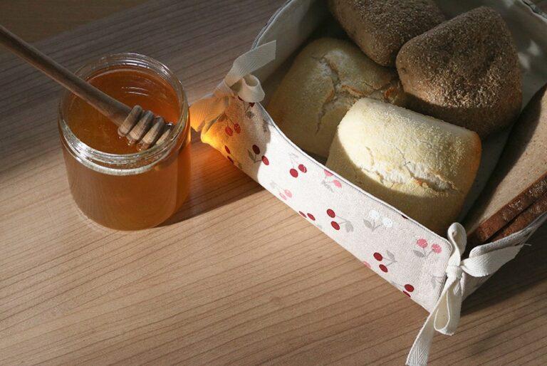 Cesta para el pan / Panera. Con patrones gratis!!