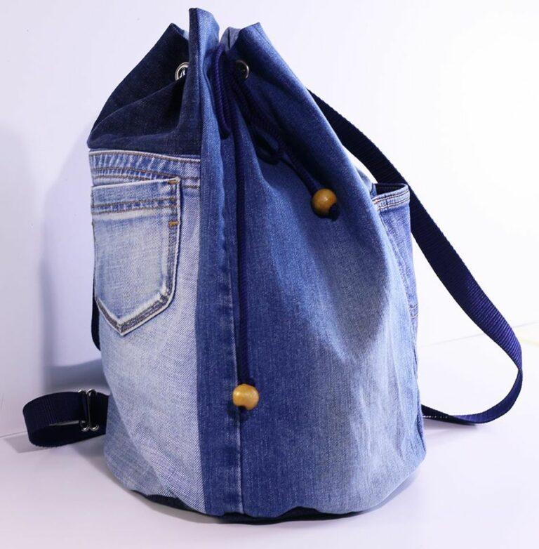 Reciclando tus jeans: Mochila/ Salveque