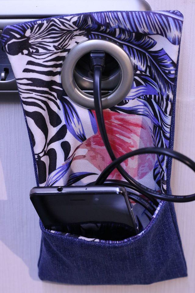 Coser con jeans viejos / Estuche para cargar el celular / Reciclando tus jeans