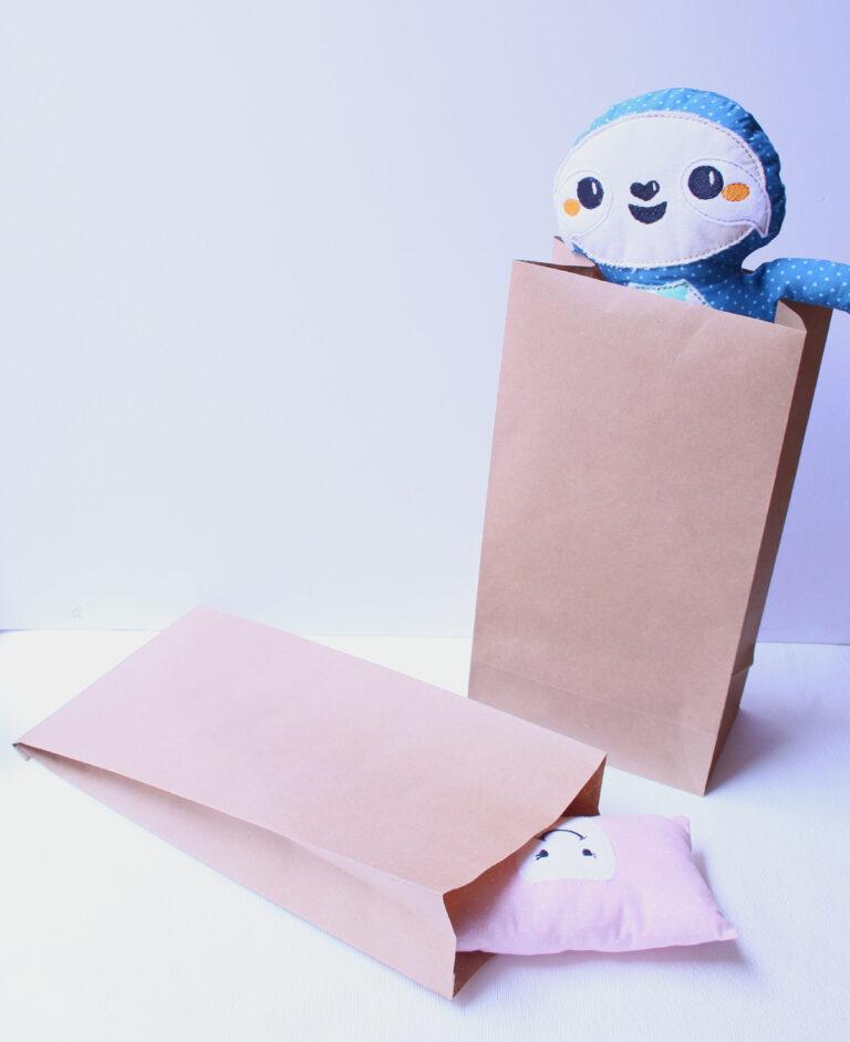 DIY Bolsas de Papel fáciles de hacer l Para tus productos o regalos