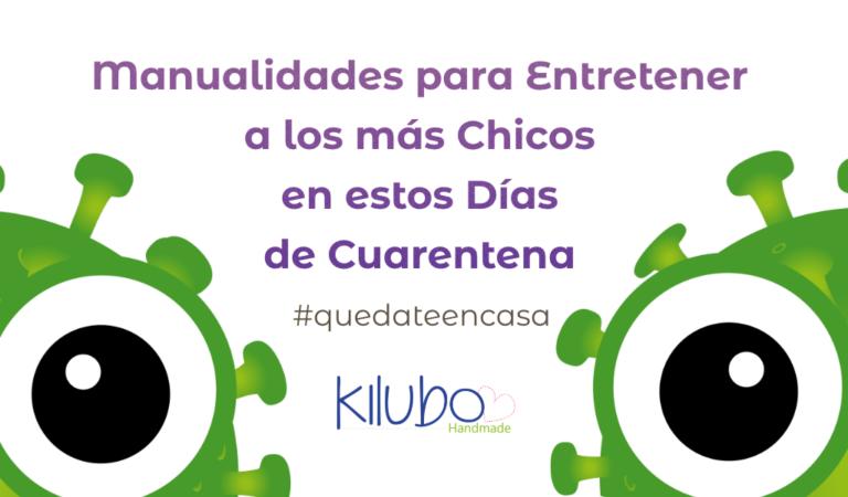 Manualidades para Niños en tiempos de Cuarentena │ Quedate en Casa